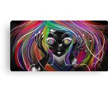Technicolor Lover Canvas Print