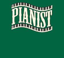 Old pianist wave Unisex T-Shirt