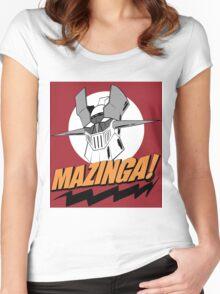 Mazinga! I'm a Nerd Women's Fitted Scoop T-Shirt