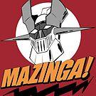 Mazinga! I'm a Nerd by mrkittyfunstore