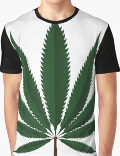 Cannabis leaf Graphic T-Shirt