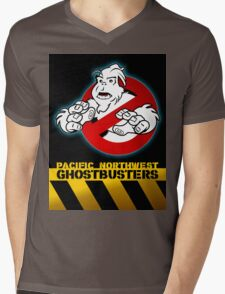 PNW: Ghostbusters Poster Mens V-Neck T-Shirt