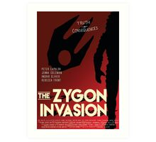 The Zygon Invasion Poster Art Print