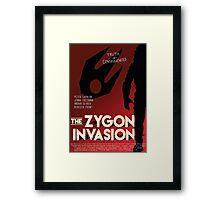 The Zygon Invasion Poster Framed Print