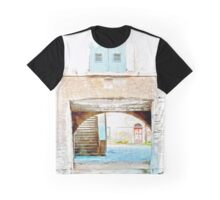 Fognano: arch with window and stair Graphic T-Shirt