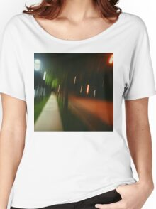 9:06, Walking at night Women's Relaxed Fit T-Shirt