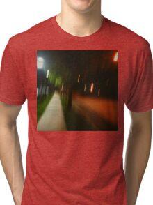 9:06, Walking at night Tri-blend T-Shirt