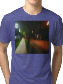 9:06, Walking at night Tri-blend T-Shirt