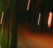 9:06, Walking at night Sticker