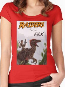 Raiders of the Lost Survival Women's Fitted Scoop T-Shirt