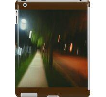 9:06, Walking at night iPad Case/Skin