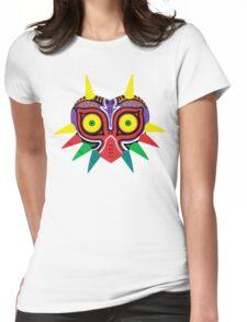 Majora's Mask w/o Cartridge Womens Fitted T-Shirt