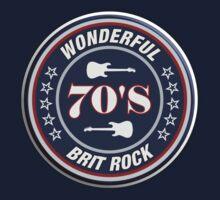 Wonderful 70's brit rock Baby Tee