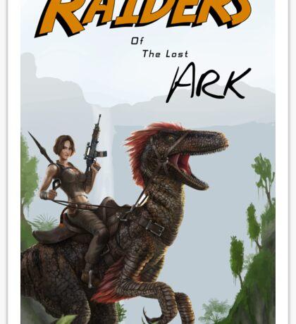 Raiders of the Lost Survival Sticker