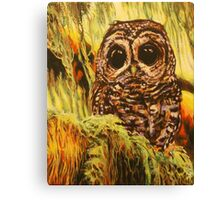 Hoot Canvas Print