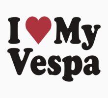 I Heart Love My Vespa by HeartsLove