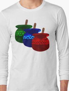 Zelda Potions w/o Cartridge Long Sleeve T-Shirt