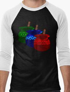 Zelda Potions w/o Cartridge Men's Baseball ¾ T-Shirt