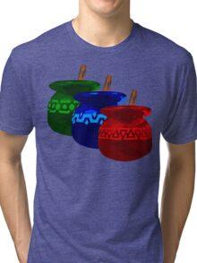 Zelda Potions w/o Cartridge Tri-blend T-Shirt