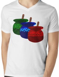 Zelda Potions w/o Cartridge Mens V-Neck T-Shirt
