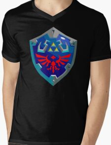 Hylian Shield w/o Cartridge Mens V-Neck T-Shirt
