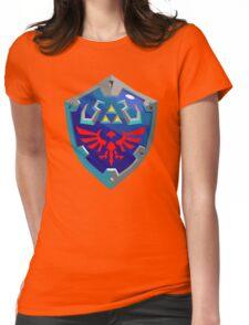 Hylian Shield w/o Cartridge Womens Fitted T-Shirt
