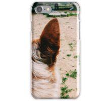 A Dog's Ear iPhone Case/Skin