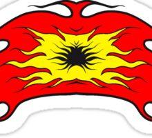 Feuer flamme kunst band  Sticker