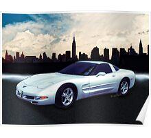 Corvette C-5 1997-2004 Poster