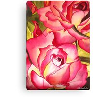 Hannah Gordon Rose flower Canvas Print