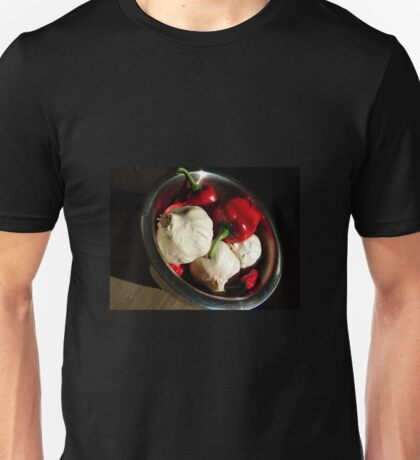 Garlic and peppers Unisex T-Shirt