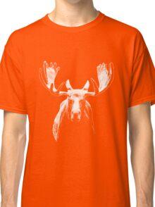 Bull moose white  Classic T-Shirt