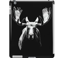Bull moose white  iPad Case/Skin