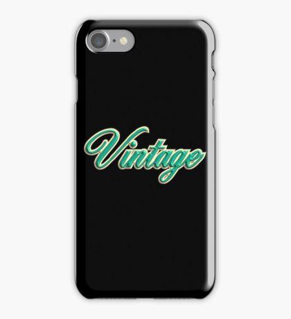 Cool vintage green iPhone Case/Skin