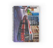 Toronto Streetcar Spiral Notebook
