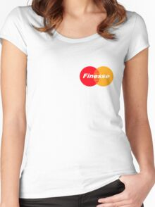 Finesse Women's Fitted Scoop T-Shirt