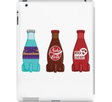 Original Quantum and Cherry Cola Set iPad Case/Skin