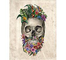 beard skull 2 Photographic Print