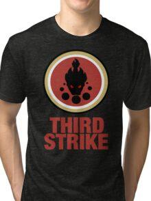 Third Strikes Tri-blend T-Shirt