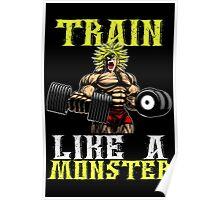 TRAIN LIKE A MONSTER Poster