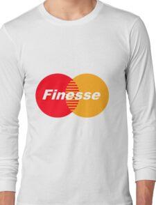 Finesse (Larger Design) Long Sleeve T-Shirt