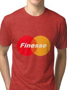 Finesse (Larger Design) Tri-blend T-Shirt