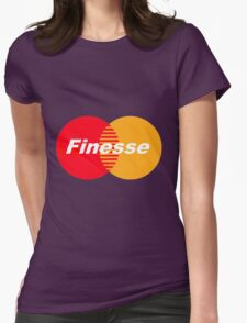 Finesse (Larger Design) Womens Fitted T-Shirt