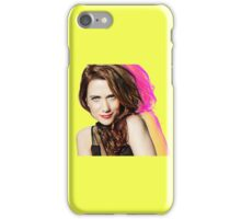 Kristen Wiig SNL Portrait iPhone Case/Skin