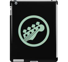 Bass guitar green iPad Case/Skin