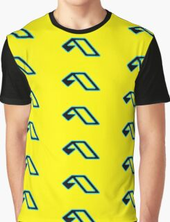 Anjunabeats black lightblue Graphic T-Shirt
