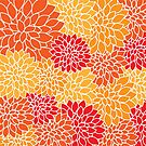 Vibrant Chrysanthemums by SpiceTree