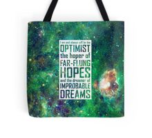 Dreamer of Improbable Dreams Tote Bag