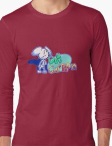 "Dogs and Tony Harl ""Dog Cartoon"" Design Long Sleeve T-Shirt"