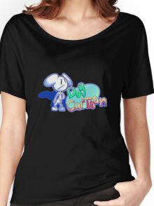 "Dogs and Tony Harl ""Dog Cartoon"" Design Women's Relaxed Fit T-Shirt"
